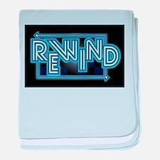 Rewind Band baby blanket