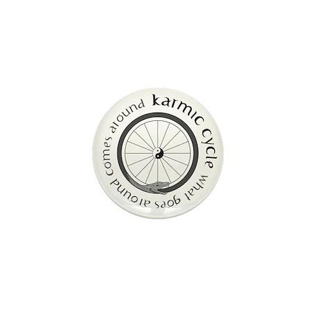 Karmic Cycle Lotus Mini Button (10 pack)