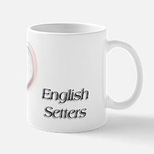 I heart English Setter Mug