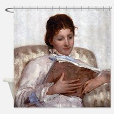 Mary Cassatt The Reader Shower Curtain