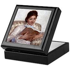 Mary Cassatt The Reader Keepsake Box