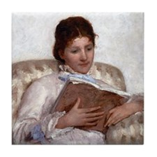 Mary Cassatt The Reader Tile Coaster