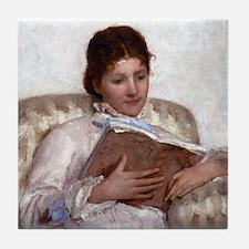 Mary Cassatt The Reader Tile Coaster