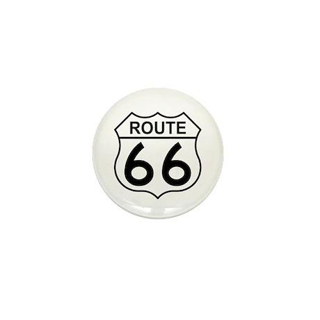 U.S. Route 66 Mini Button (100 pack)