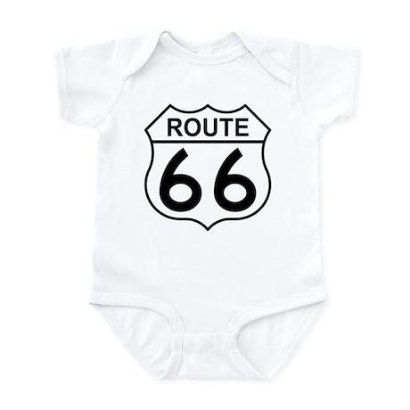 U.S. Route 66 Infant Creeper