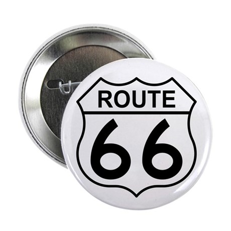 "U.S. Route 66 2.25"" Button (100 pack)"
