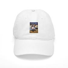 Children On The Beach Baseball Cap