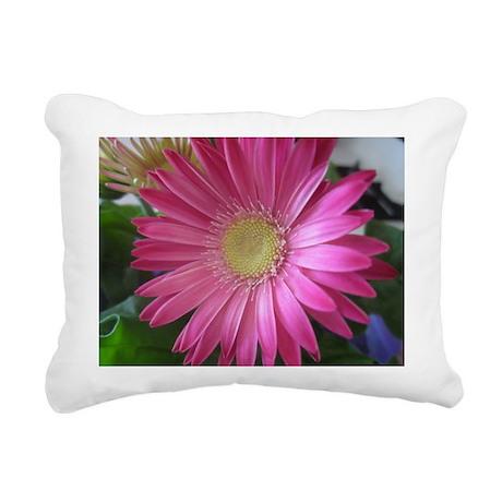 Pink Daisy Princess Rectangular Canvas Pillow