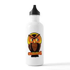 Retro Owl Water Bottle