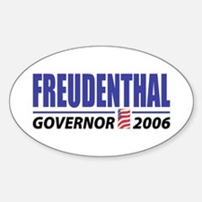 Freudenthal 2006 Oval Decal