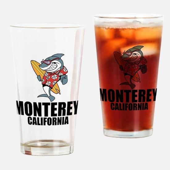 Monterey, California Drinking Glass