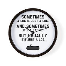 Sometimes... Wall Clock