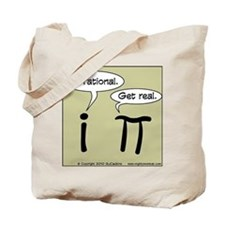 Pi Vs I Tote Bag