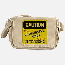 In Training RED Messenger Bag