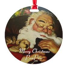 Merry Christmas Pawpaw Ornament
