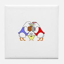 Boxing Tile Coaster