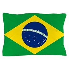 Flag of Brazil Pillow Case