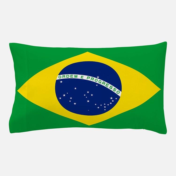 Flag of Brazil Pillow Case