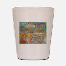 Paul Klee Ad Parnassum Shot Glass