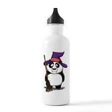 Panda Witch Water Bottle