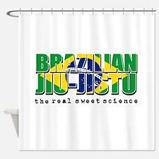 Brazilian Jiu Jitsu designs Shower Curtain