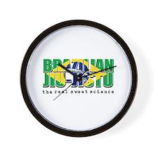 Brazilian Jiu Jitsu designs Wall Clock