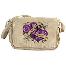 GIST Cancer Survivor Messenger Bag
