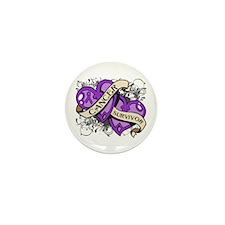 GIST Cancer Survivor Mini Button (10 pack)
