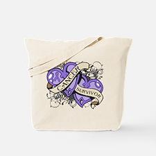 Hodgkin Disease Survivor Tote Bag