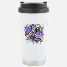 Hodgkin Disease Survivor Travel Mug