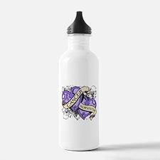 Hodgkin Disease Survivor Water Bottle