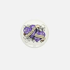 Hodgkin Disease Survivor Mini Button