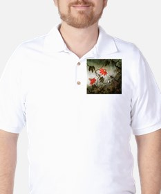 Passion Flowers and Hummingbirds T-Shirt