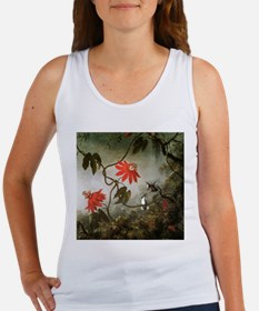 Passion Flowers and Hummingbirds Women's Tank Top