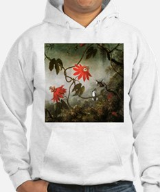 Passion Flowers and Hummingbirds Hoodie