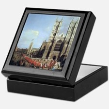 Canaletto Westminster Abbey Keepsake Box