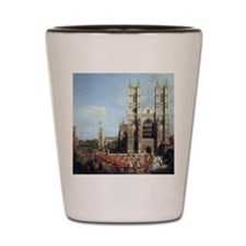 Canaletto Westminster Abbey Shot Glass