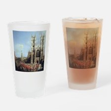 Canaletto Westminster Abbey Drinking Glass