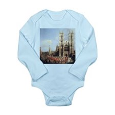Canaletto Westminster Abbey Long Sleeve Infant Bod