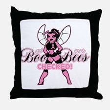 Get Your Boo Bees Checked Throw Pillow