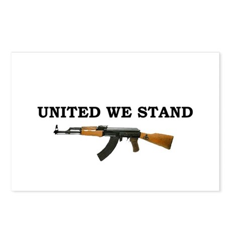 United We Stand Postcards (Package of 8)