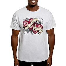 Head Neck Cancer Survivor T-Shirt