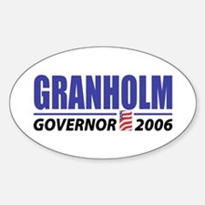 Granholm 2006 Oval Decal