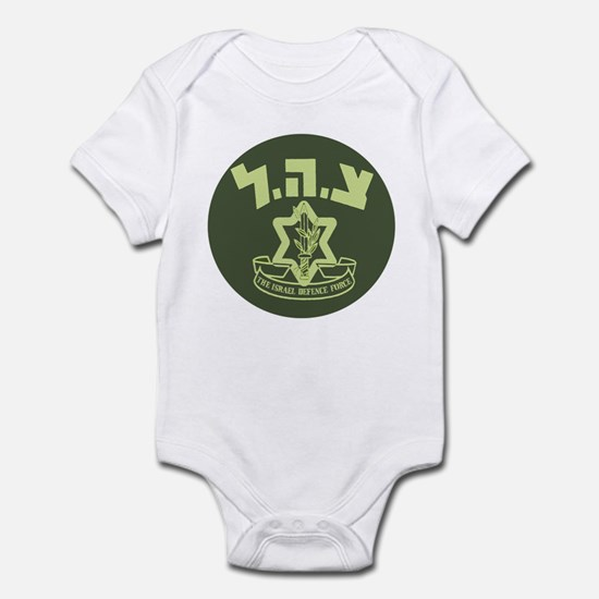 Tzahal Logo Infant Creeper