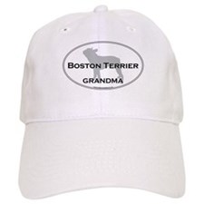 Boston Terrier GRANDMA Baseball Cap