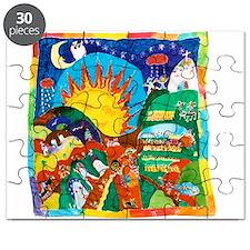 Guatemalan Sunrise Puzzle