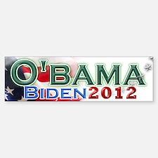 O'bama Biden 2012 Bumper Bumper Sticker