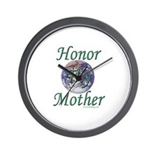 Honor Thy Mother Wall Clock