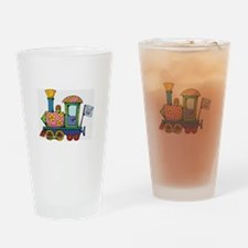 Train Drinking Glass