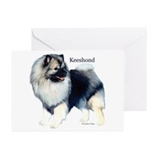 """Smiling Keeshond"" NoteCards (Pk of 10)"